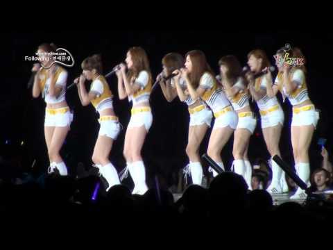 [Fancam] 100911 SNSD - Gee - SM Town Live 10 in Shanghai