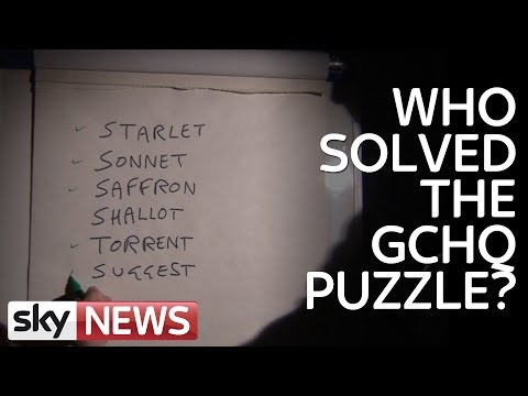 Who Solved The GCHQ Puzzle?