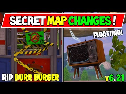 *NEW* FORTNITEMARES SECRET MAP CHANGES! WEEK 6  (v6.21 Fortnite Season 6 Storyline Week 6!)