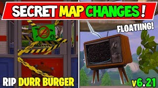 'NEW' FORTNITEMARES SECRET MAP CHANGES! SEMAINE 6 (v6.21 Fortnite Saison 6 Storyline Week 6!)