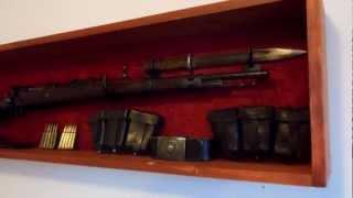 Ww2 German Nazi Mauser K98 In Display Case