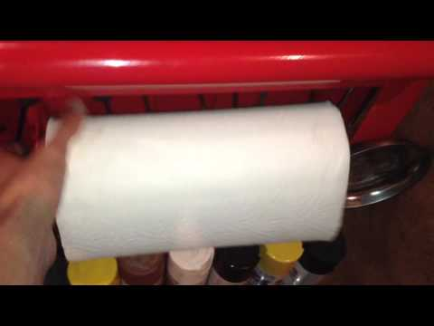 Magnetic Paper Towel Holder Review- Harbor Freight Tools-Item 69321