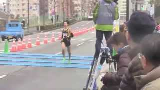 松村康平 東京マラソン2015 40km地点