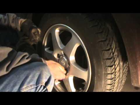 2006 Hyundai Sonata Changing Rear Brake Pads Youtube