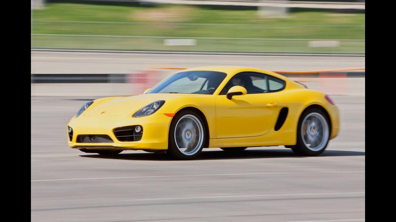 2014 Porsche Cayman S | Track Tested | Edmunds.com - YouTube