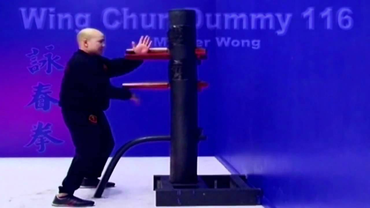 wing chun dummy training wooden dummy - Lesson 1