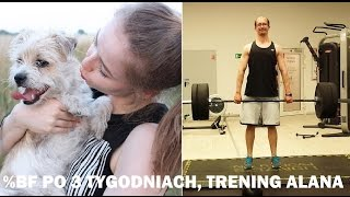 %BF PO 3 TYGODNIACH, TRENING ALANA | FIT COUPLE