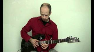 Van Halen Eruption Guitar Lesson Tapping Andreas Vockrodt Gitarrenweltrekord .WMV