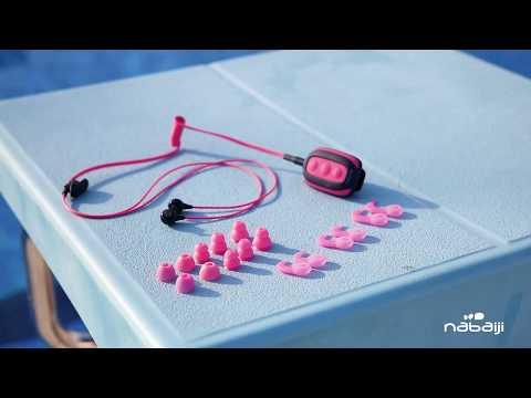 Lecteur mp3 waterproof pour écouter la musique en natation