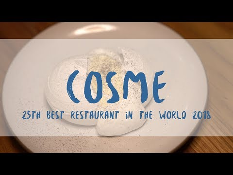 Gluten-free Dining At The 25th Best Restaurant In the World (2018)! Cosme