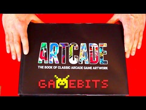Unboxing ARTCADE - The Book of Classic Arcade Game Art