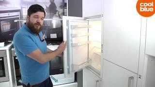 Hoe bepaal ik de inbouwmaten en het scharniersysteem van een koelkast?
