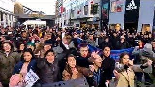 BESPUCKT, BEDROHT & ATTACKIERT: Frauentag in Frankfurt - ANTIFA ESKALIERT!