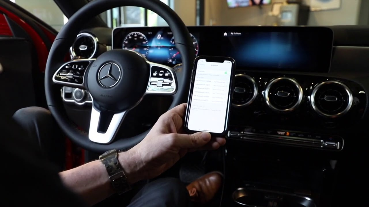 How to connect your Mercedes-Benz Bluetooth in under 35 ...