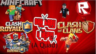 Roblox and Minecraft clash of clans Live stream