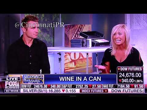 WineSociety on FOX Business Network FBN Mornings with Maria Bartiromo PR by Andy Hemmer