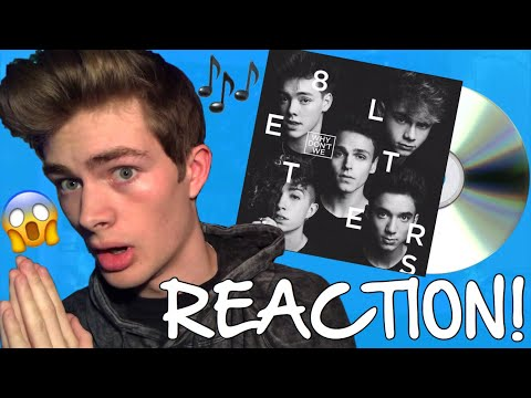 Why Don't We - 8 Letters Album REACTION!