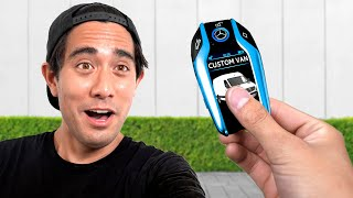 I Surprised Zach King With A Custom Van