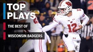 The Best of the Wisconsin Badgers: 2018 Mid-Season Highlights | Big Ten Football
