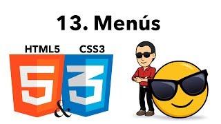 Curso Básico de HTML y CSS 13 -Menu Horizontal y Vertical-