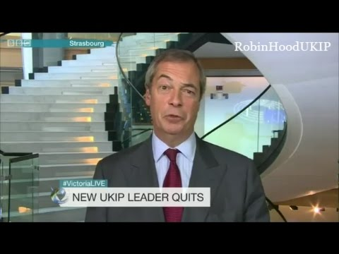 Nigel Farage is back as leader, they keep pulling me back in