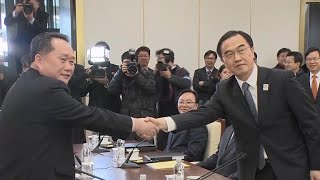 From youtube.com: North and South Korea hold first direct talks in years {MID-226552}