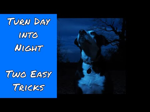 Two Easy Tricks with Flash: Turn Day into Night ep.136