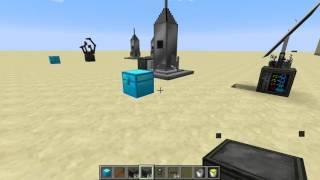 очистительный завод, загрузчик топлива и заправка ракеты в Galacticraft 3
