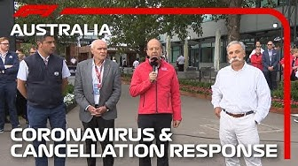 2020 Australian Grand Prix: Official Response To Coronavirus and Race Cancellation