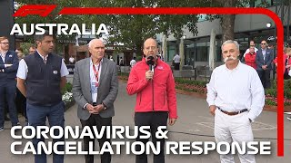 2020 Australian Grand Prix: Official Response To Coronavirus and Race Cancellation