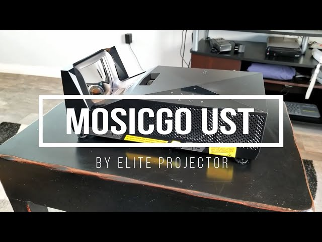 Elite Projector Outdoor Portable MosicGO® Sport UST Projector Product Review by JoelsterG4K