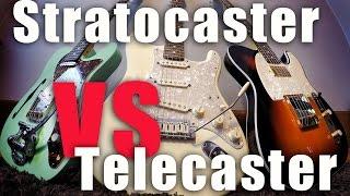 Stratocaster vs Telecaster - Tone Comparison!