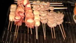 Smoked Shrimp & Bacon Wrapped Scallops For Valentines Dinner