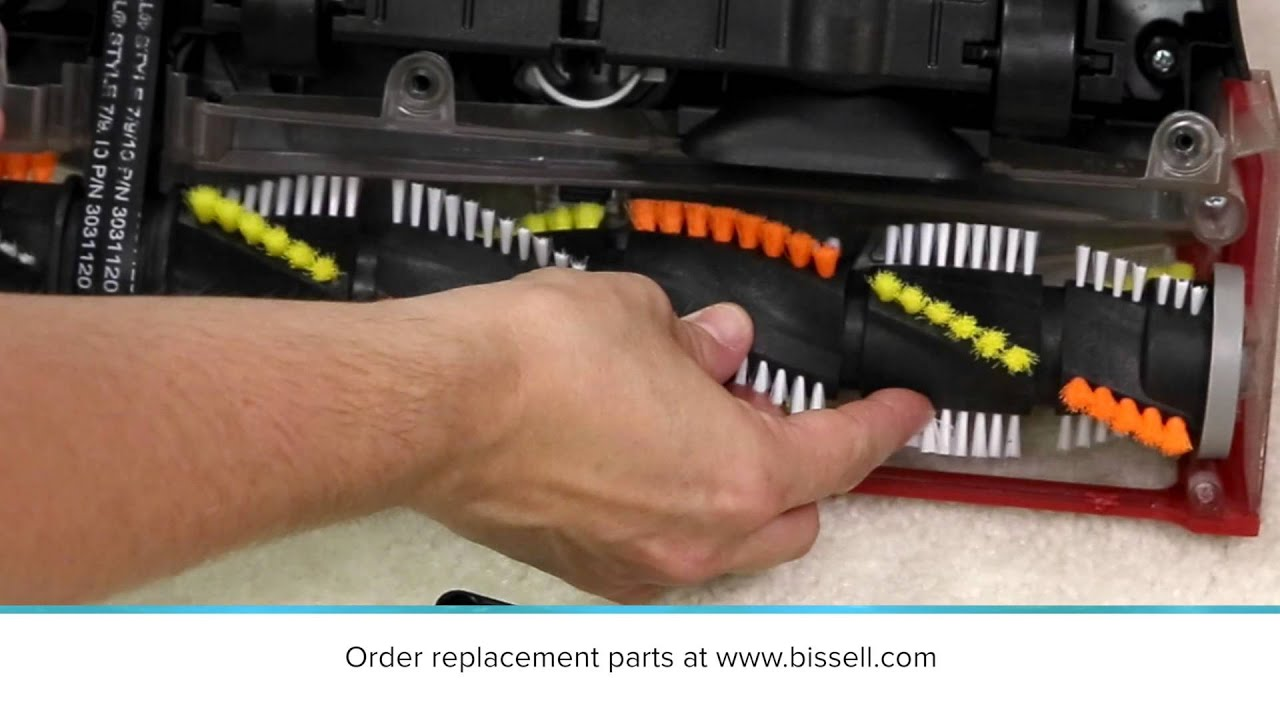 Brush Not Turning Cleanview Rewind Youtube Diagram Parts List For Model 16991 Bissellparts Wetcarpetcleaner Bissell