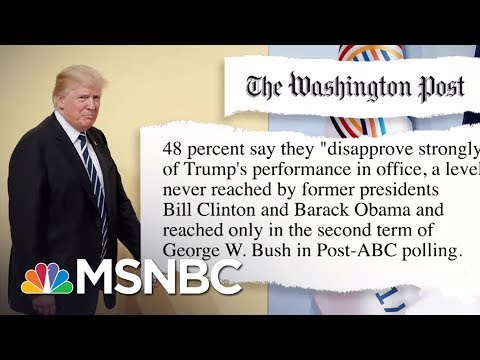 Donald Trump Numbers Down, Obamacare Numbers Up In Polls | Morning Joe | MSNBC