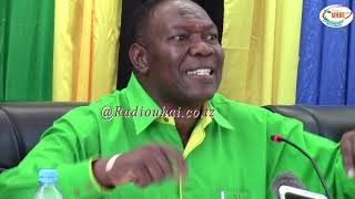 AGREY MWANRI- Atoa ripoti ya mazingira