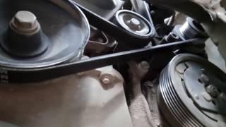 Ремень генератора в обход компрессора кондиционера на РЕНО ЛОГАН
