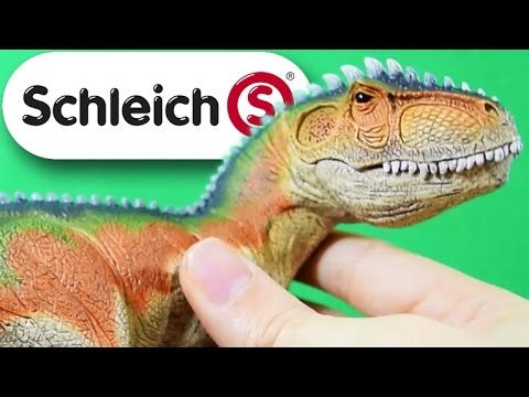 Schleich® Giganotosaurus (2015) | with Articulated Jaw | Review