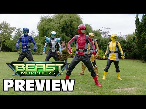 """Power Rangers Beast Morphers Episode 13 Preview 