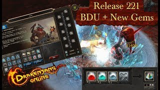 DRAKENSANG ONLINE - Release 221 New Gems + BDU Event [GER]
