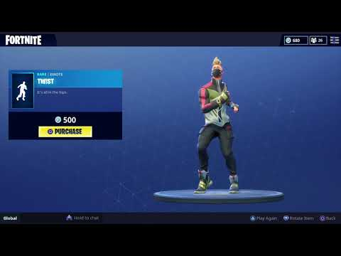FORTNITE TWIST EMOTE (1 HOUR)