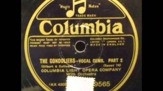 The Gondoliers: Vocal Gems - Columbia Light Opera Company (British Columiba 9565_