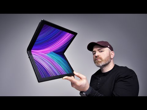The Futuristic Lenovo Folding Screen Laptop