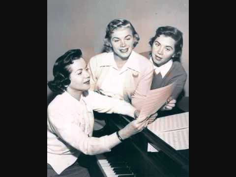 The Fontane Sisters - Playmates (1955)