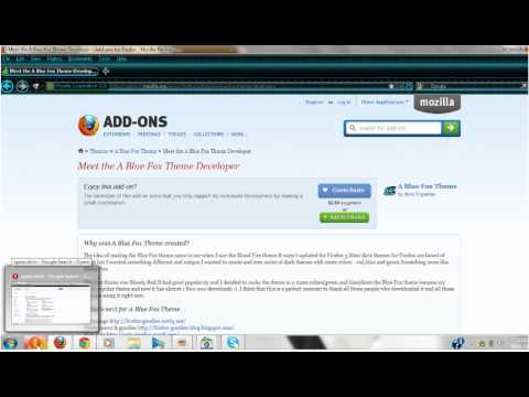 how to change your them/skin on: google chrome and firefox and opera .RH 95)
