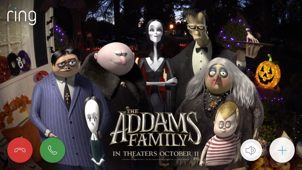 News Ring Has Dropped The Official The Addams Family Ring Tone