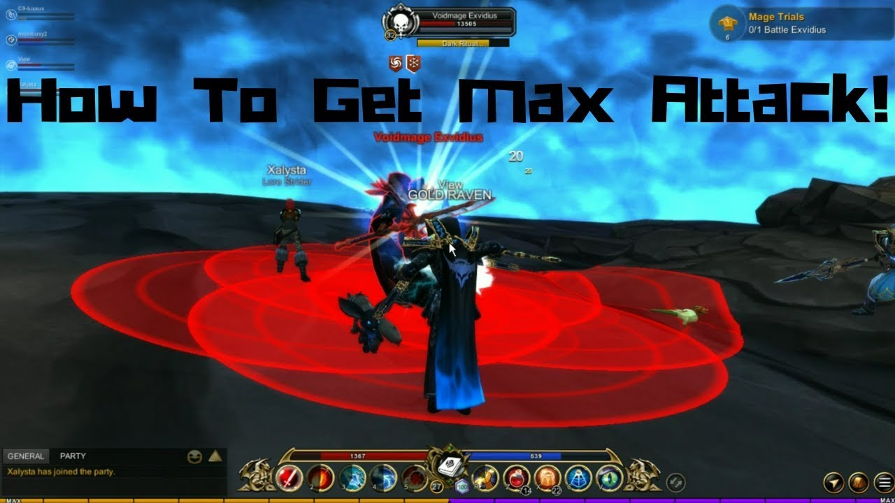 AQ3D How To Get MAX Attack! (July, 2019) AdventureQuest 3D