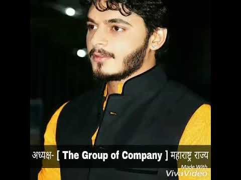 Shivraj DaDa Shirole ( Youth Icon of Pune ) अध्यक्ष [ THE GROUP OF COMPANY ] महाराष्ट्र राज्य