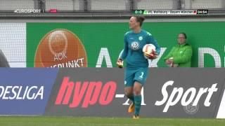 Frauen Bundesliga. VfL Wolfsburg - FC Bayern München (20/02/2016)