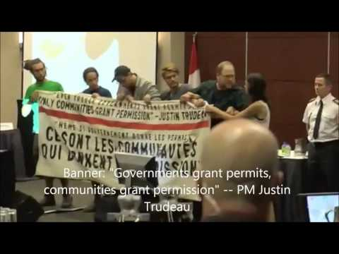 Montreal National Energy Board Protest, August 29th 2016